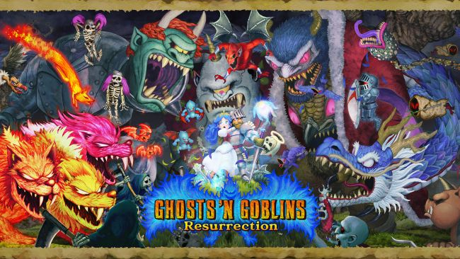 Ghosts 'n Goblins Resurrection confirmado para PC, PS4, e Xbox One