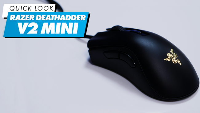 Apresentamos o novo rato Razer Death Adder V2 Mini