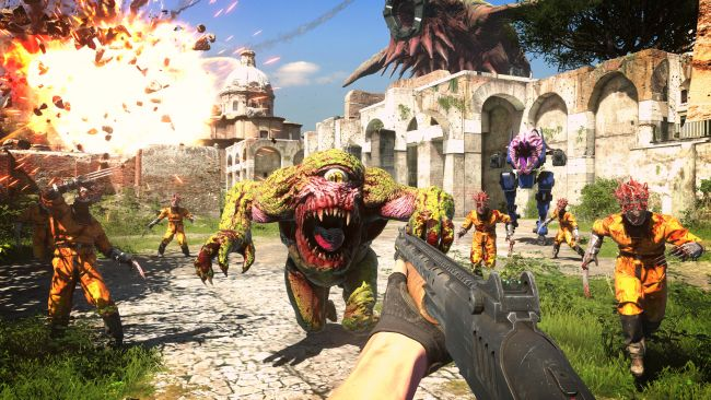 Já viu o novo trailer de Serious Sam 4: Planet Badass?
