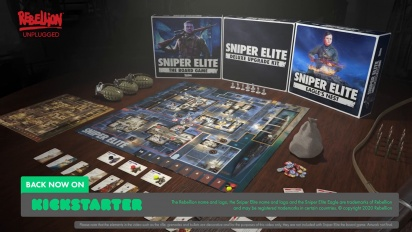Sniper Elite - The Board Game - Kickstarter Launch Trailer