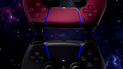 PS5 DualSense Cosmic Red & Midnight Black - Reveal Trailer