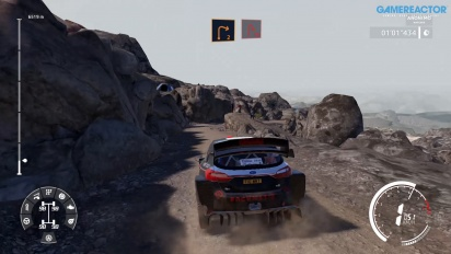 WRC 9 - Nintendo Switch Rally Argentina Gameplay